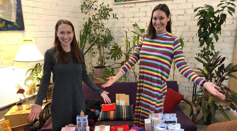 """Kaip """"Mėnulio seserys"""" ir tūkstančiai moterų mažina menstruacinių priemonių atliekas"""